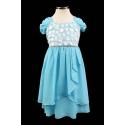 Очаровательное шифоное платье