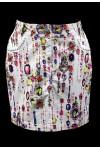 Летняя юбка-карандаш оригинальной расцветки