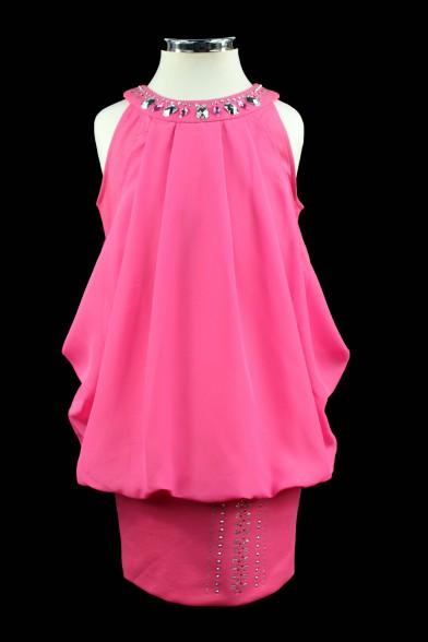 Нарядное платье на широкой манжете Deloras