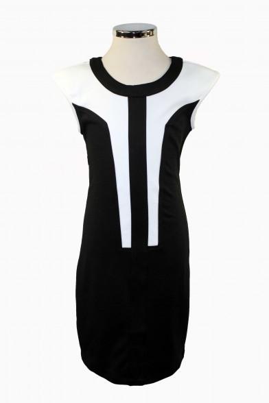 Комбинированное платье Vitacci