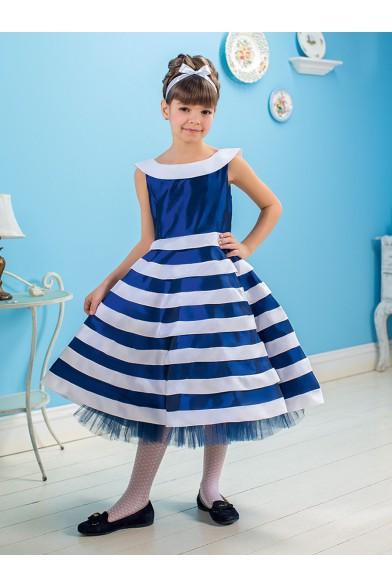 """Платье классического кроя из коллекции """"именины у кузины"""" Perlitta PSA 021403"""