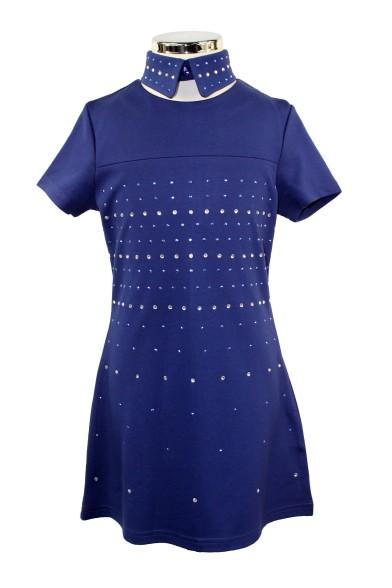 Платье с воротником Deloras