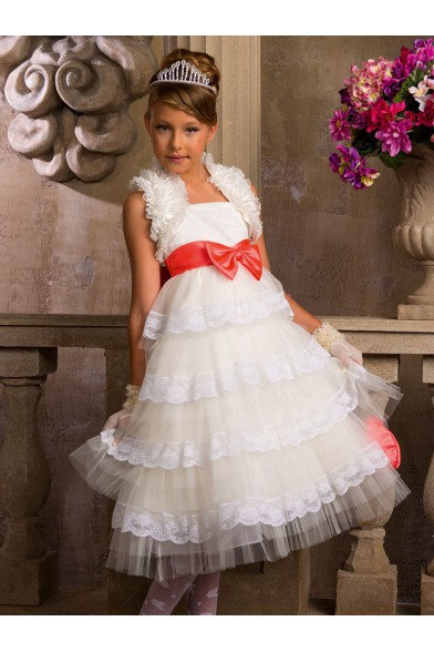 Изящное праздничное платье Perlitta