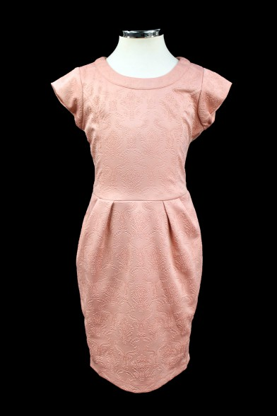 Платье отрезное по линии талии Vitacci