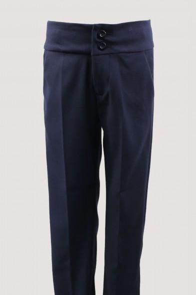 Классические брюки на широком поясе Vitacci 8410314
