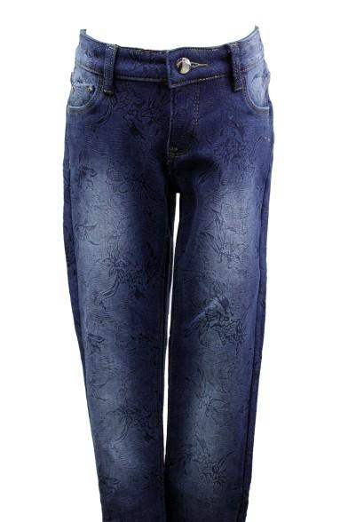 Ультрамодные утепленные джинсы