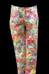 Летние цветастые брюки