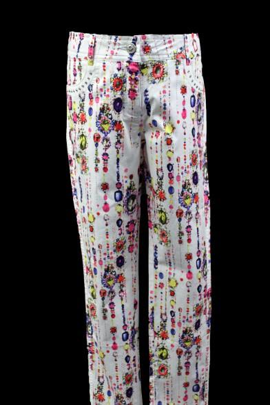 Летние брюки оригинальной расцветки Deloras