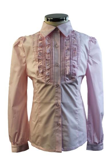 Приталенная блузка 60526 Deloras