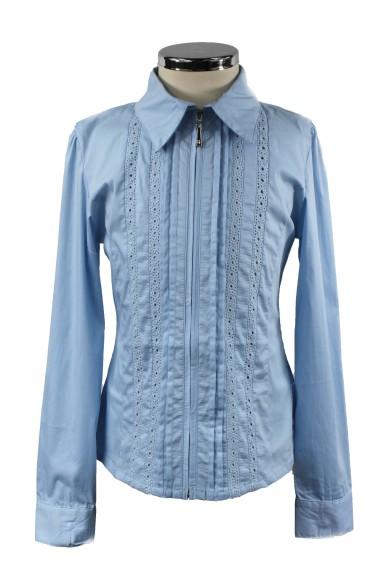 Блузка, декорированная кружевом - 1 Vitacci 2153128