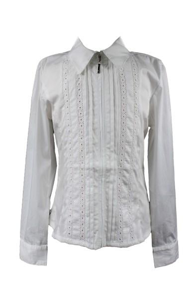 Блузка, декорированная кружевом Vitacci