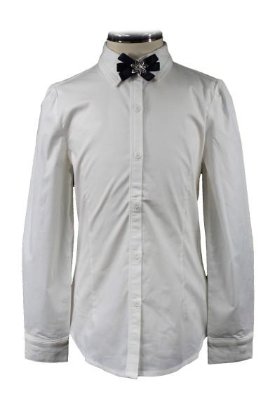 Блузка с брошью 2153032 Vitacci