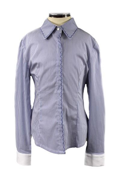 Блузка в полоску 2153151 Vitacci