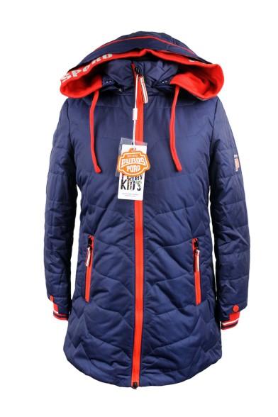 Демисезонное пальто 15-332 PurosPoro