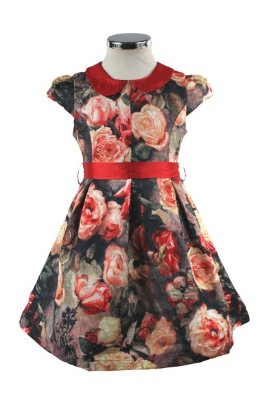 """Платье """"розовый сад"""" 2151386 Vitacci"""