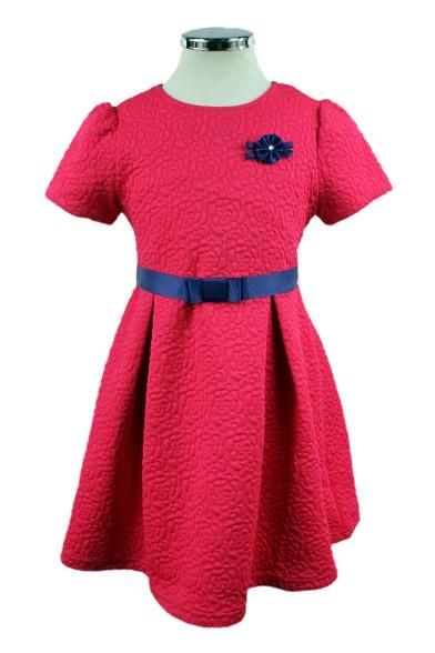 Жаккардовое платье 16771F Deloras 16771F