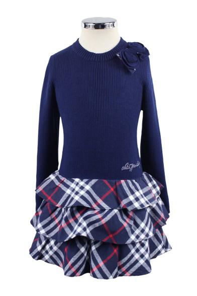 Комбинированное платье - 1 Olimpia