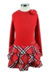 Комбинированное платье - 4