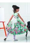 Стильное платье из шифона PSA011501
