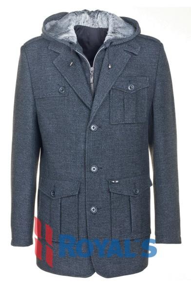 """Пальто """"Хаммер"""" Royal Spirit - Bremer ПМ-721-41"""