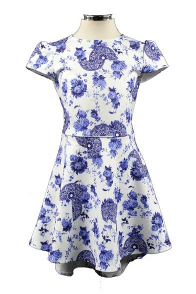 Платье со шлейфом 28720 Deloras 28720