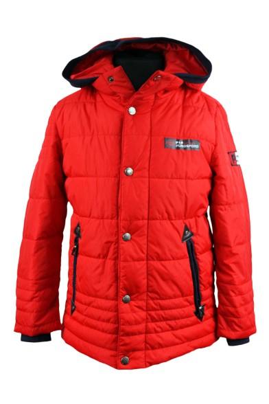 Модная демисезонная куртка 15-560 PurosPoro
