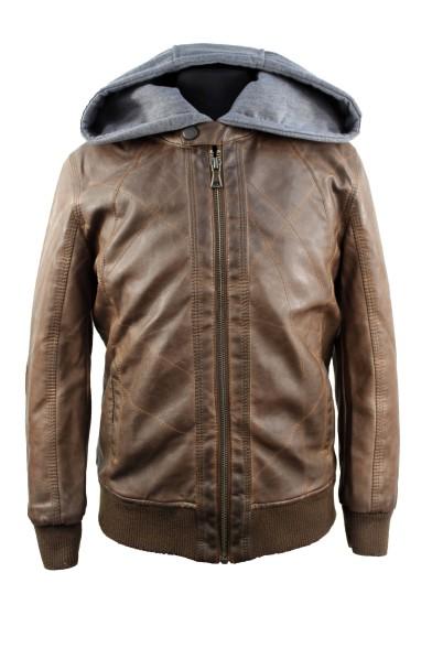 Куртка из искусственной кожи 3005 3005