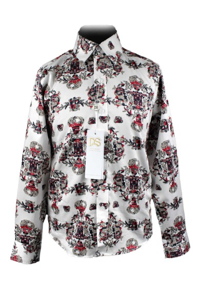Рубашка оригинальной расцветки 52108 Deloras