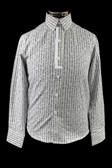 Модная рубашка в полоску 51362 Deloras 51362