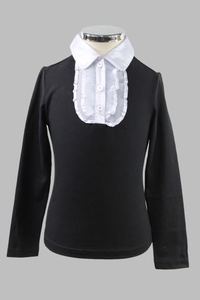 Блузка с отложным воротником 1882