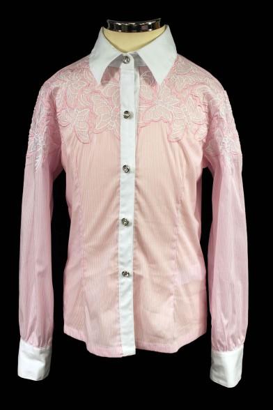 Блузка с вышивкой 2226 Deloras