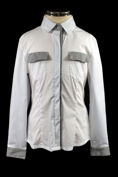 Стильная деловая рубашка 26433 Deloras