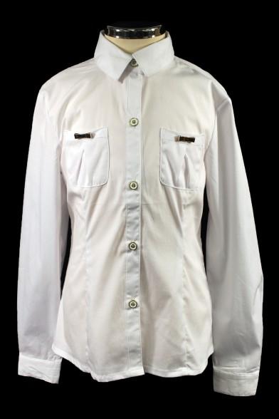 Стильная рубашка для девочки 26395 Deloras
