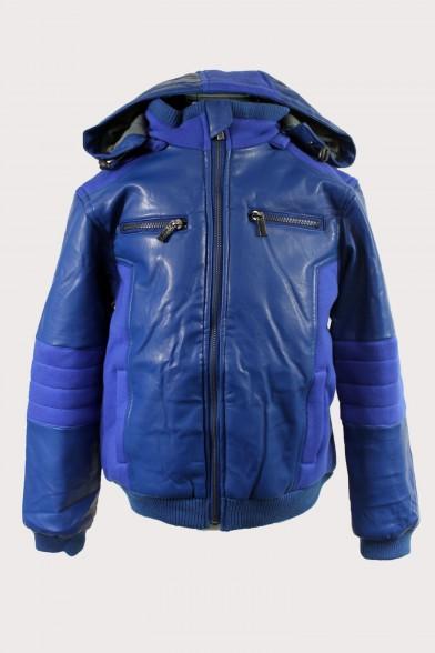 Комбинированная куртка на синтепоне - 5 Deloras 31249