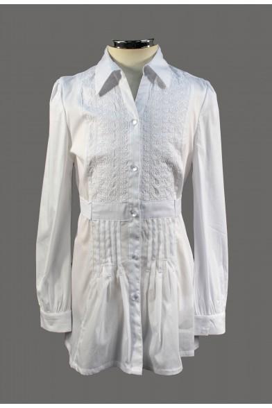 Оригинальная блузка-туника 60022 Deloras