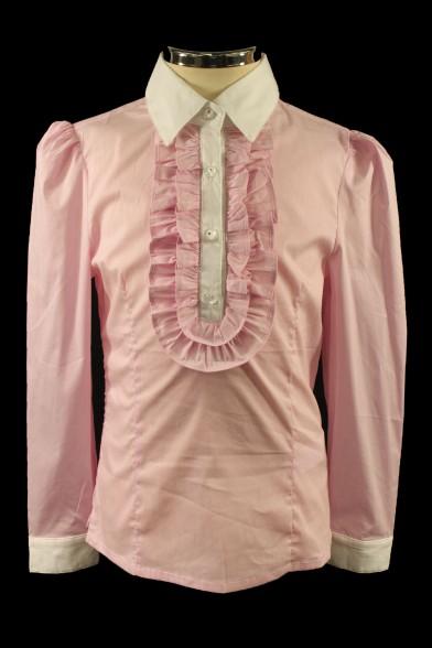 Розовая блузка 26434 Deloras
