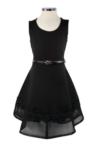 Платье-сарафан, отрезанное по линии талии Deloras 60686