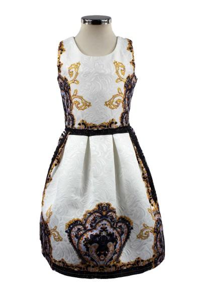 Платье с красивым орнаментом Olimpia 156-68695