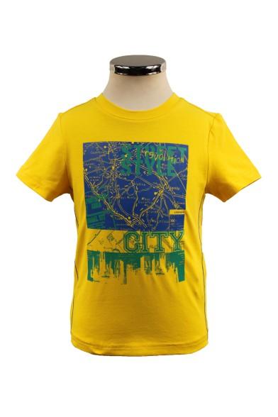Яркая футболка Deloras 32018Y
