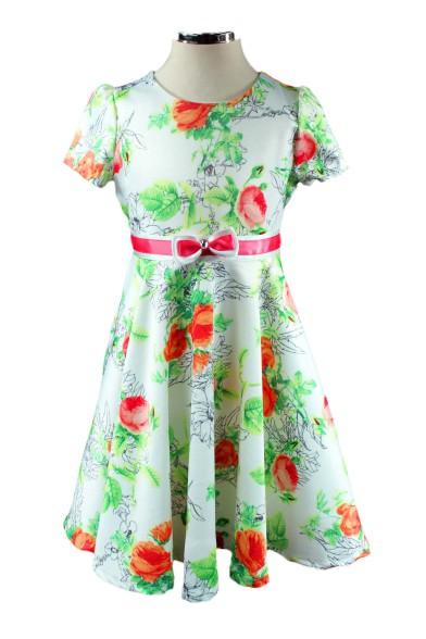 """Платье """"волшебные розы"""" Deloras 17068"""