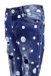 Ультрамодные джинсы в горошек