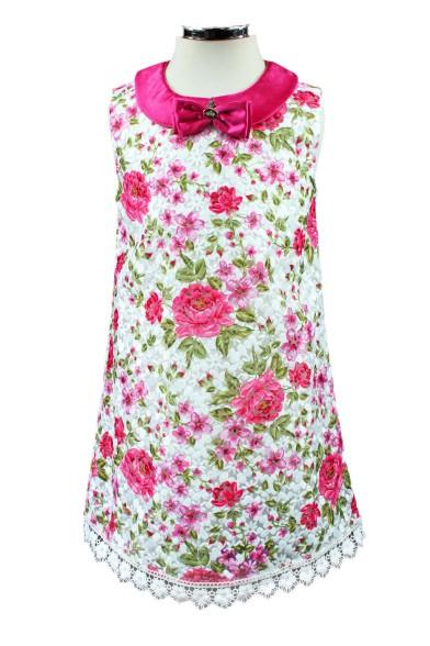 Платье из шелкового жаккарда Vitacci 2162177-29