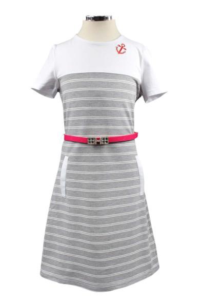 Платье на морскую тематику Deloras
