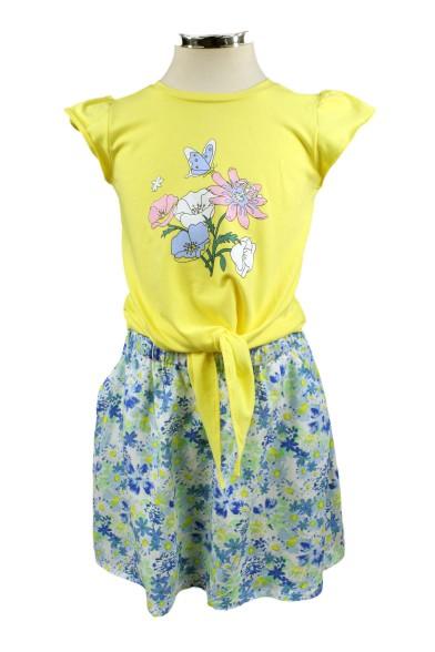 """Платье """"Весенний букет"""" Deloras 17102F"""
