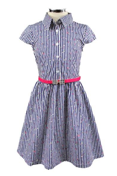 Платье в полоску Deloras 28767F