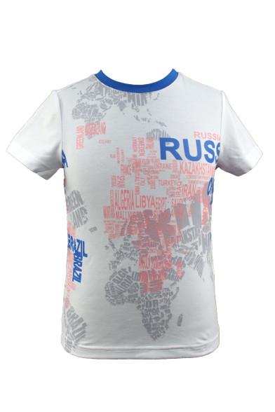 """Футболка """"Карта мира"""" Deloras 52019Y"""