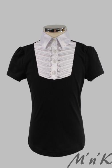 Блузка с короткими рукавами 1721s Deloras