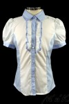 Комбинированная блузка 26460S