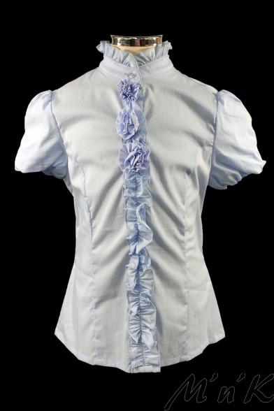 Блузка, украшенная розочками 26454 Deloras