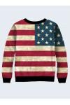 Свитшот Микки Маус на флаге США - 4